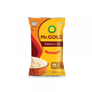 Mr. Gold Gingelly Oil Pouch, 1 L
