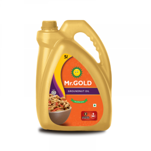 Mr.Gold Groundnut Oil Can, 5 L
